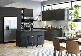 ent cuisine ikea cuisine ikea avec cuisine noir mat ikea photos de design d