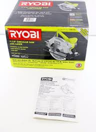 Ryobi 7 Wet Tile Saw by Csb135l Ryobi 7 1 4 Circular Saw With Exactline Laser 033287164806