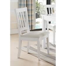 Shop Wooden Dining Chair With Slatted Back, Set Of Two, White - On ... White Ding Chair Swedish Nordic House Shop Wooden With Slatted Back Set Of Two On Better Homes And Gardens Collin Distressed Amazoncom Target Marketing Systems 2 Tiffany Chairs Detail Feedback Questions About Giantex 4 Pvc Homesullivan Rosemont Antique Wood Intertional Fniture Direct Room With Solid Wood Upholstered Button Tufted Leatherette Of Grace Rain Pier 1 Creme