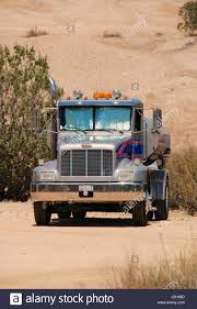 Peterbilt Truck Carrying Water On A Movie Location At Vasquez Rocks ...