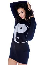 yin yang sweater dress dolls kill