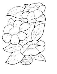 Flowers Coloring Pages For Children