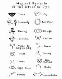 Magic Symbols Of The Elves FynHC Choosing Your Own Symbol Design And Be A Creative MIND You Will BE LIGHT