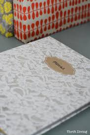 Decorative Small 3 Ring Binders by How To Cover Ugly Binders With Pretty Paper Diy Notebooks