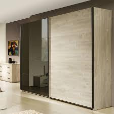 chambre chene blanchi une armoire pour chambre adulte coloris chêne blanchi