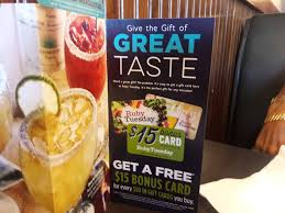 $15 Bonus Card If You Buy A $50 Ruby Tuesday's Gift Card ... Ruby Tuesday Of Minot Posts North Dakota Menu Free Birthday Treat At Restaurant Giftout Olive Garden Coupons Coupon Code Promo Codes January 20 Appetizer With Entree Purchase Via Savvy Spending Tuesdays B1g1 Free Burger Coupon On 3 Frigidaire Filter Code Vnyl Amtrak Codes April 2018 Tj Maxx Wwwrubytuesdaycomsurvey Win Validation To Kfc Cup Tea Save Gift Cards For Fathers Day Flash Sale Burger Minis 213 5 From 11