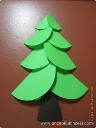 Image Result For How To Make A Big Christmas Tree Out Of Construction Paper