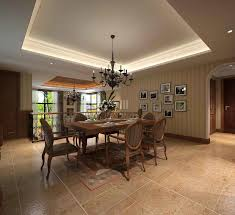 Dazzling Contemporary Dining Room With Vase Flowers On Table Furnished Chairs And Completed Black