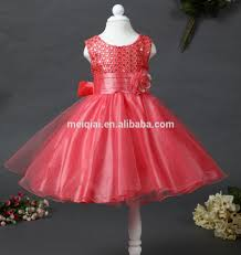 2016 New Design Kids Princess Dress Girls Flowers Sequnis Dresses For Wedding Wear