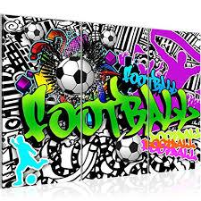 fussball graffiti test vergleich 2021 7 beste leinwanddrucke