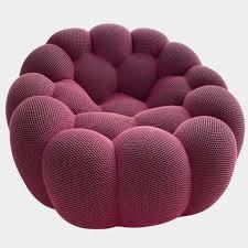 100 Modern Roche Bobois Bubble Swivel Chair 2 In Stock