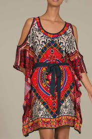 flying tomato bohemian print dress from texas by red poppy