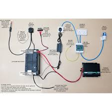 Complete Camper Race Van Electrical 12V 240V Wiring Conversion Kit
