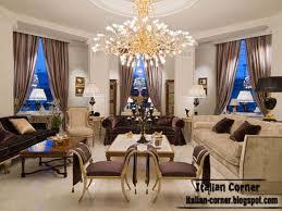Full Classic Living Room With Italian Decorating Ideas