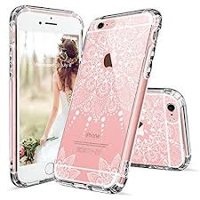 Amazon iPhone 6s Case iPhone 6 Clear Case MOSNOVO White