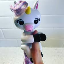 How Adorable Is This Gigi Interactive Baby Unicorn Fingerlings From Wowwee Definitely Going To