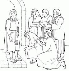 7 Pics Of Joseph In Egypt Coloring Pages