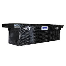 100 Tool Box For Trucks Kobalt 69in X 19in X 18in Black Powder Coat Aluminum FullSize