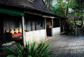 Bambu Indah Hotel Has 13 Rustic Wooden Houses For Its Guests And Like Name Means Beautiful Bamboo In Bahasa Indonesia All Cottages Are