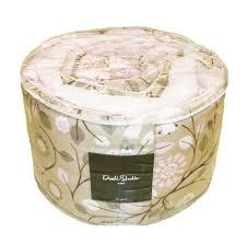 DwellStudio Crib Set Oval Check Blossom Crib & Portable Crib