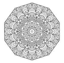 Free Printable Inside Mandala Coloring Pages Pdf