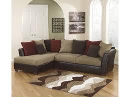 Rana Furniture Living Room by San Marino Mocha Contemporary Sectional Rana Furniture