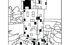 Minecraft Mutant Creeper Coloring Pages Sheets Sheet Just