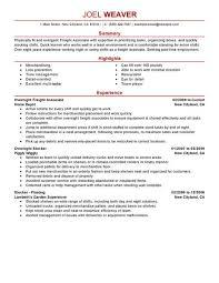 Resume For Full Time Job