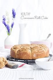 gesunder zimtschnecken kuchen