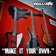 Wall Axe Custom Guitar Hangers With Regard To Most Popular Metal Art View