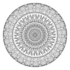 5 Free Printable Coloring Pages Mandala Templates