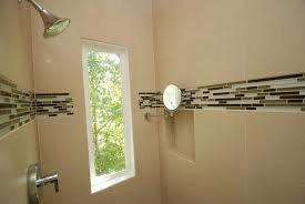 how to install glass tile in shower how to install mosaic tile