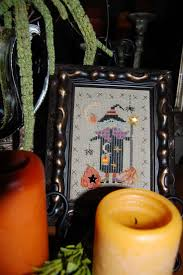 Frosted Pumpkin Stitchery Kit by 198 Best Halloween Cross Stitch Images On Pinterest Halloween