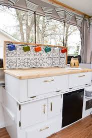 This Camper Is Full Of DIY Projects