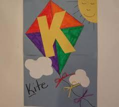 letter k craft Educational Crafts Pinterest