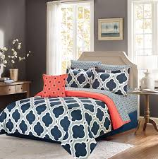 Best 25 Navy and coral bedding ideas on Pinterest