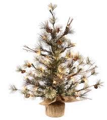 Dakota Pine Artificial Christmas Tree 36 Clear Lights