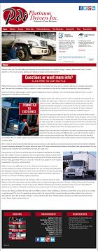 100 Dedicated Truck Driving Jobs Platinum Drivers Competitors Revenue And Employees Owler