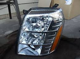 Cadillac Escalade 2007 2008 2009 07 08 09 Driver Side Headlight