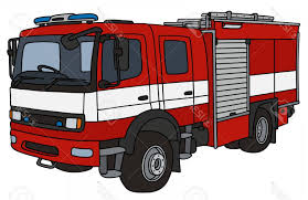 100 Fire Truck Drawing Photostock Vector Hand Of A Truck ARENAWP
