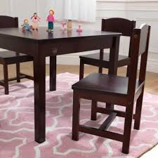 Farmhouse Table & 4 Chair Set - Espresso Kids Round Table Set Tyres2c Children39s White And Chairs Personalized Play Hayneedle Best Rated In Chair Sets Helpful Customer Reviews Springs Hottest Sales On Kidkraft Storage 2 Kidkraft Bench Fresh Star And Shop Avalon Ii Free Shipping Exciting Kitchen Card Gumtree Small Rattan Multiple Colors Pink Farmhouse Beautiful New Sturdy Table With Four Chairs Beyondborders 15 Benches For Child S Wooden