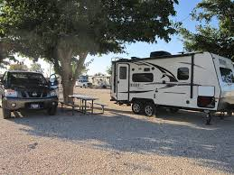 Carlsbad RV Park And Campground Spacious Parking Easy To Maneuver Our 22 Camper