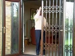 Sliding Patio Door Security Bar Uk by Extendor Security Grilles Home Youtube
