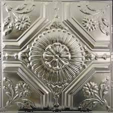 123 tin metal ceiling tile floral centerpiece