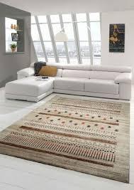designer teppich moderner teppich wohnzimmer teppich barock design in braun beige tau