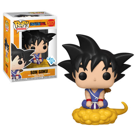 Funko Pop 517 Dragonball Son Goku Figure