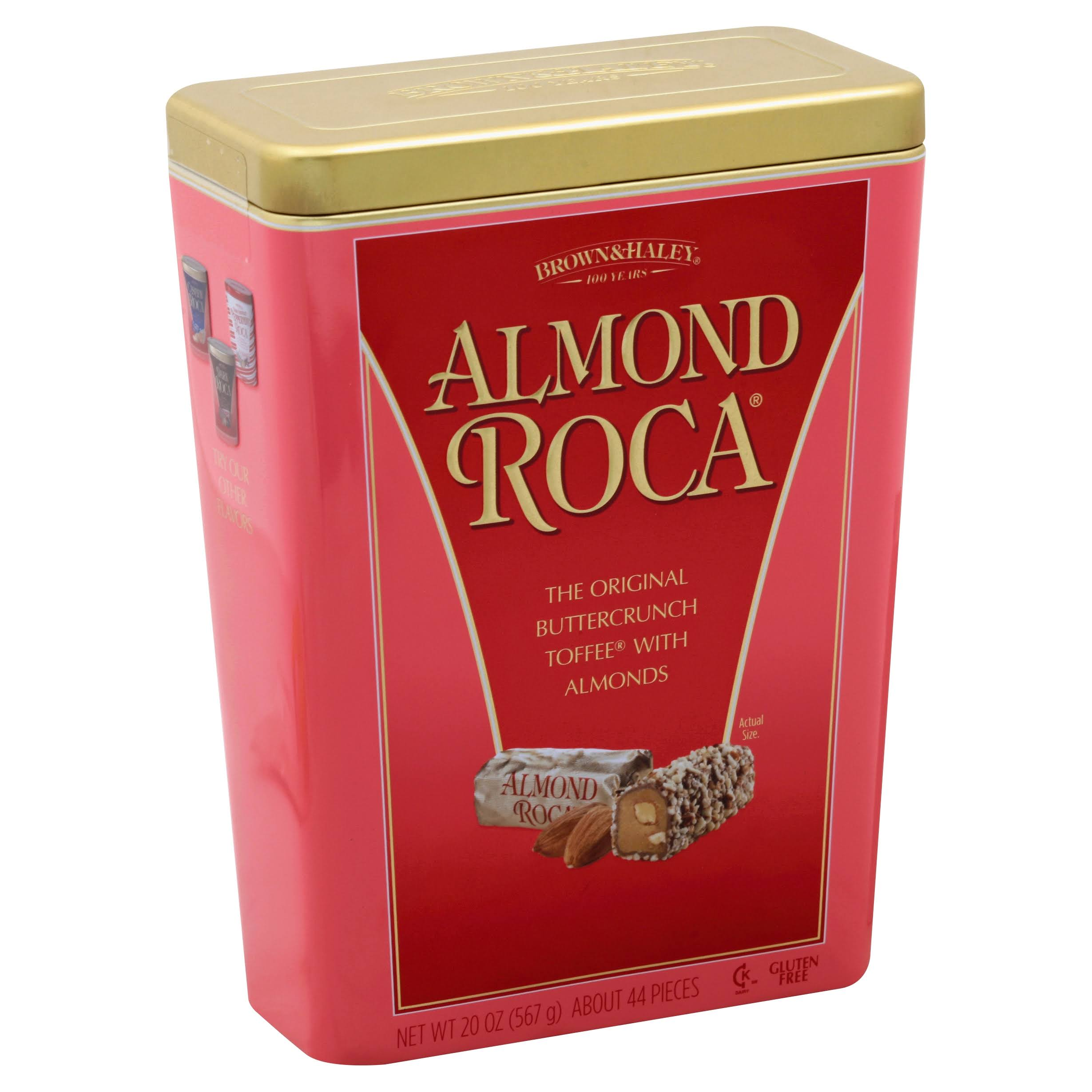 Almond Roca The Original Buttercrunch Toffee - with Almonds