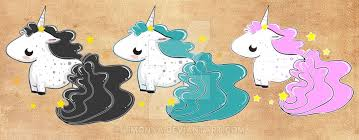 Cute Baby Unicorns By Limonna