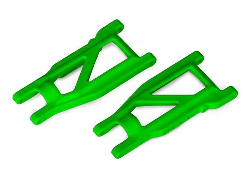 Traxxas Suspension Arms, Green, Front/Rear (Left & Right) (2) TRA3655G