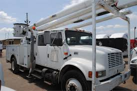 100 Don Baskin Truck Sales 2001 ALTEC AA755L MOUNTED ON 2001 INTERNATIONAL 4700 For Sale In